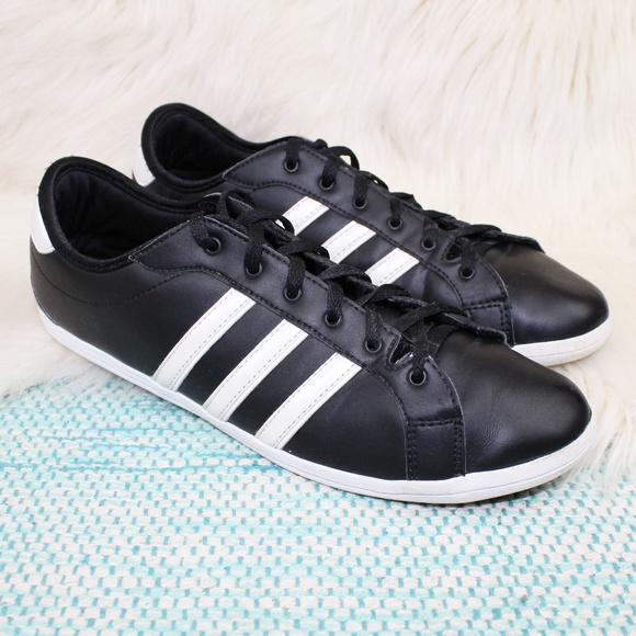 b5268bf38a1 ... where can i buy adidas neo label black striped sneakers shoes 11b9c  8debf